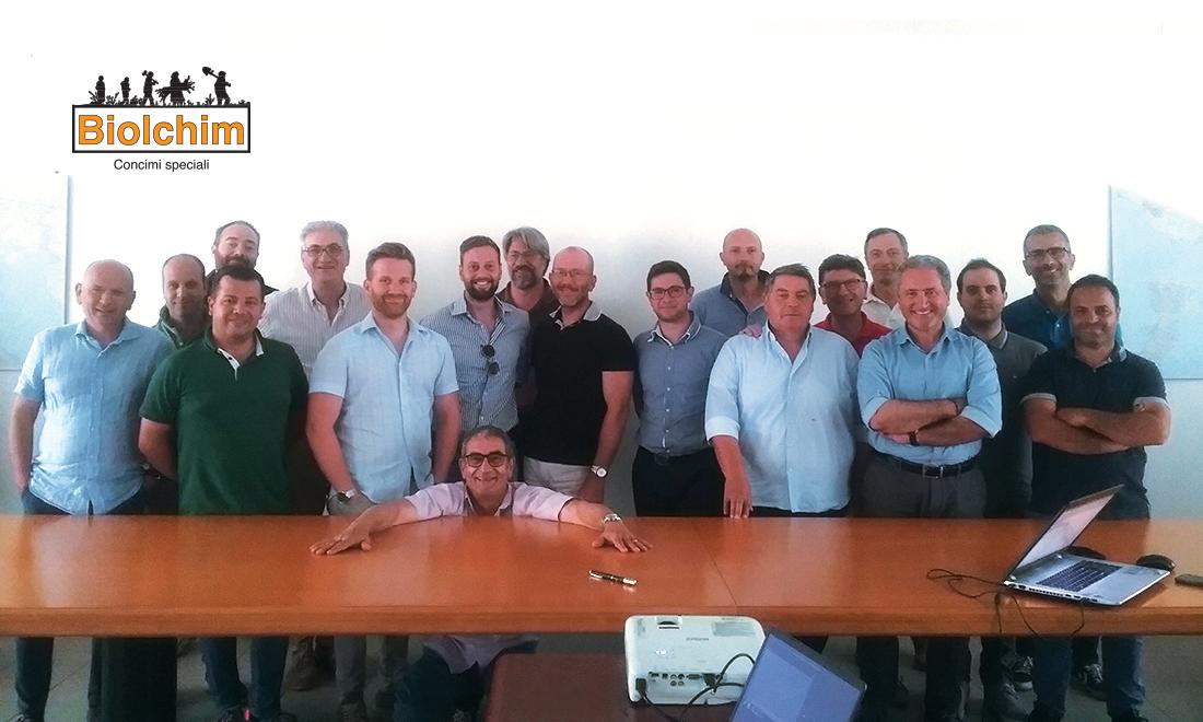 Condivisione e nuovo slancio per il team tecnico Biolchim