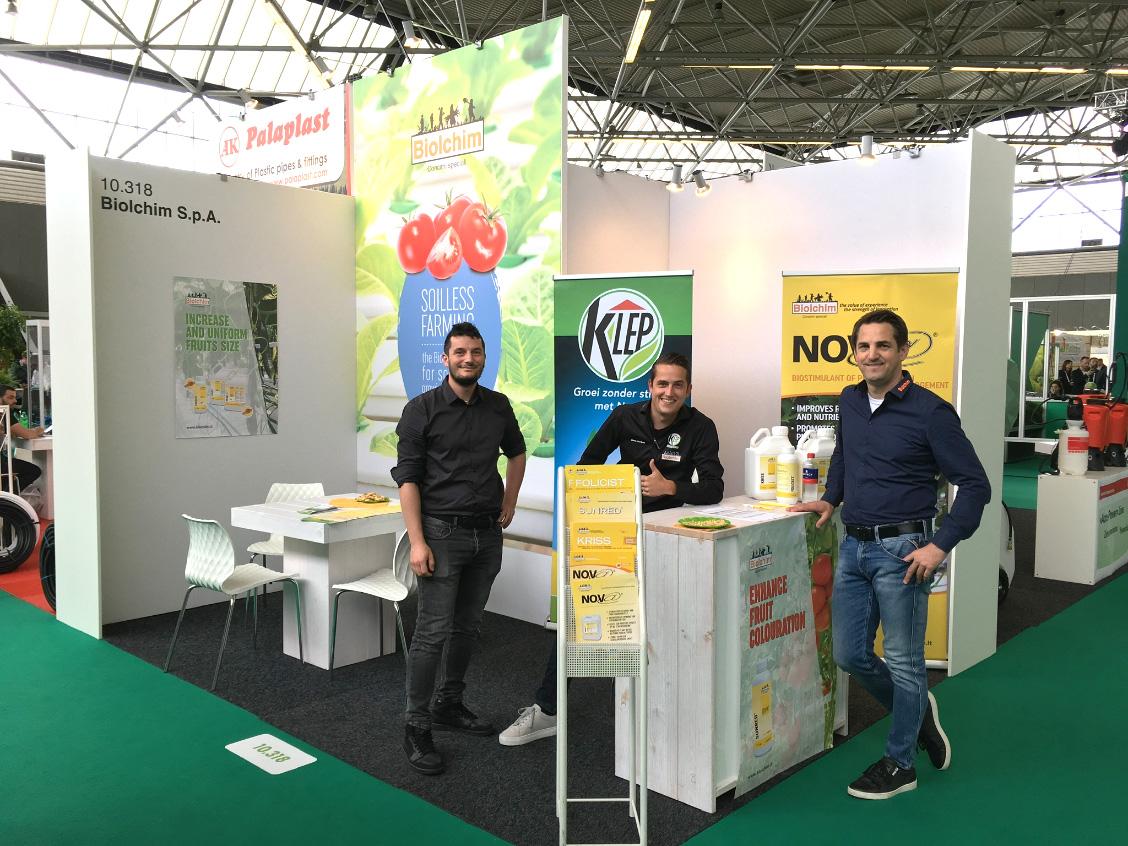 Biolchim partecipa a GreenTech 2019