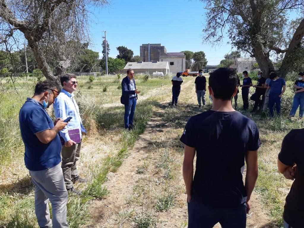 """Biolchim porta il """"Progetto rizosfera"""" tra gli studenti dell'Istituto Tecnico Agrario """"G. Presta"""" di Lecce"""